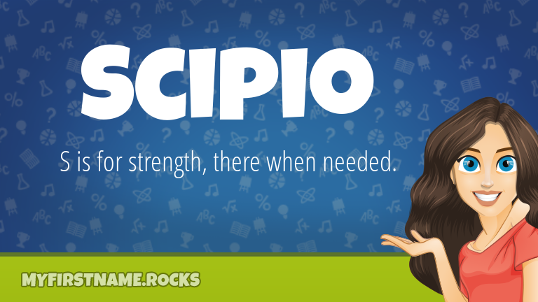 My First Name Scipio Rocks!