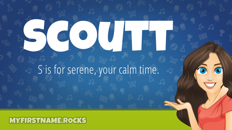 My First Name Scoutt Rocks!
