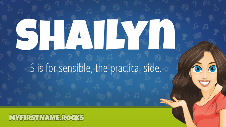 My First Name Shailyn Rocks!