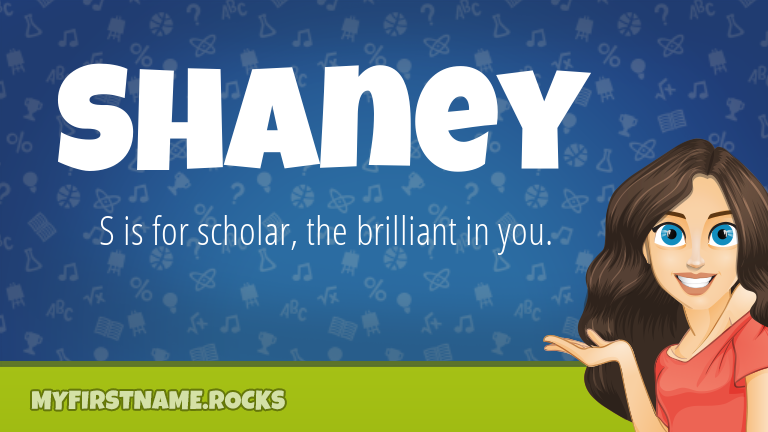 My First Name Shaney Rocks!