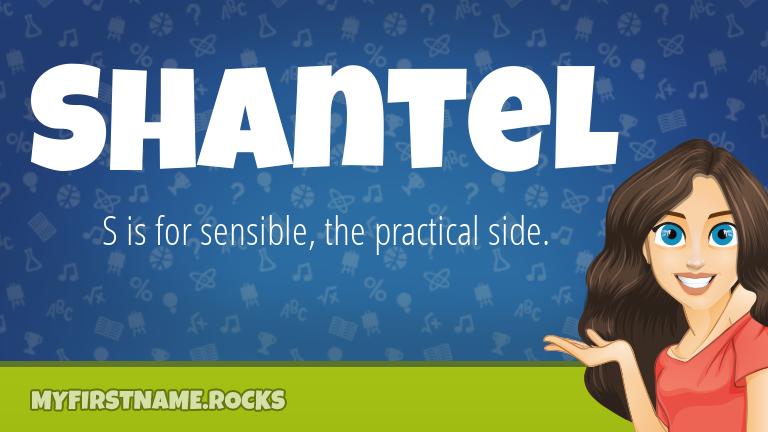 My First Name Shantel Rocks!