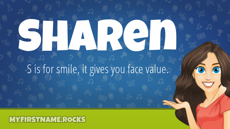 My First Name Sharen Rocks!