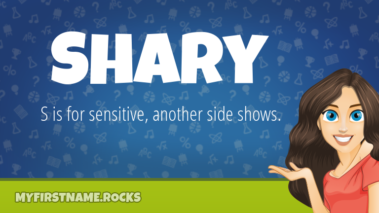 My First Name Shary Rocks!