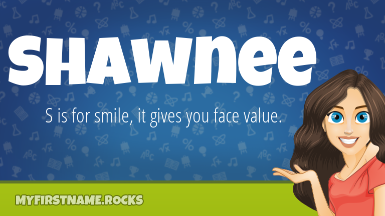 My First Name Shawnee Rocks!