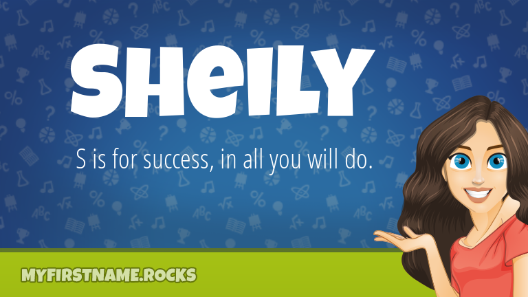 My First Name Sheily Rocks!