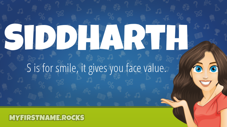My First Name Siddharth Rocks!
