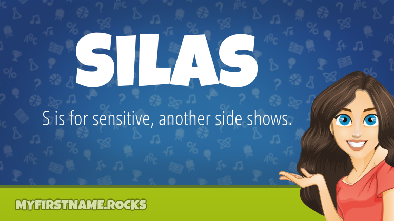 My First Name Silas Rocks!
