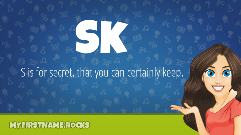 My First Name Sk Rocks!