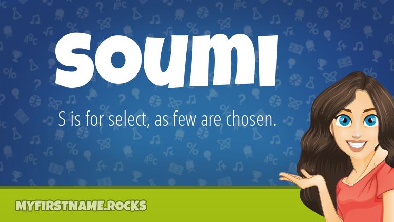 My First Name Soumi Rocks!