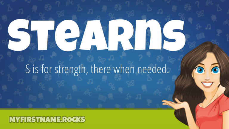 My First Name Stearns Rocks!