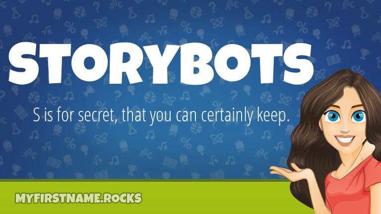 My First Name Storybots Rocks!
