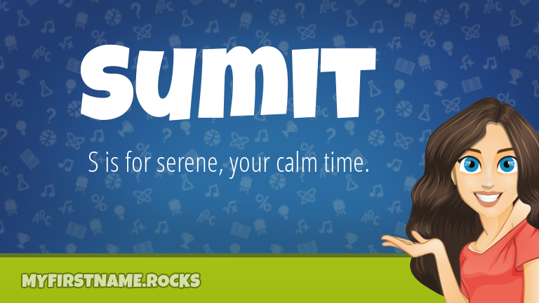 My First Name Sumit Rocks!