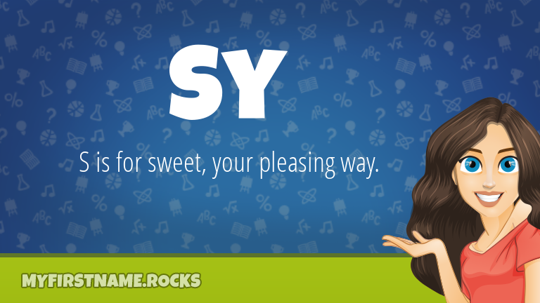 My First Name Sy Rocks!