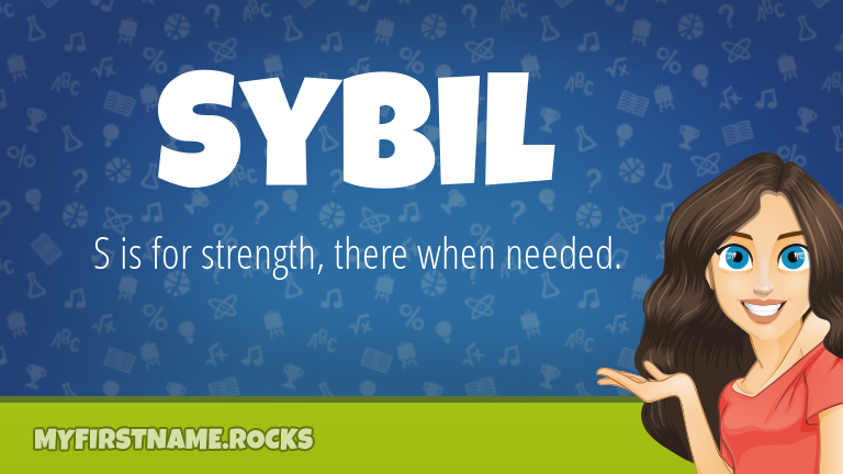 My First Name Sybil Rocks!