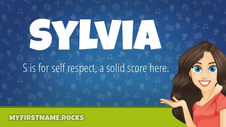 My First Name Sylvia Rocks!