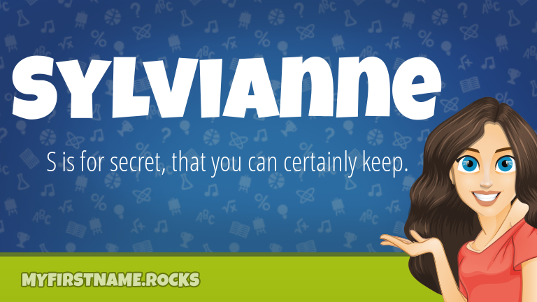 My First Name Sylvianne Rocks!