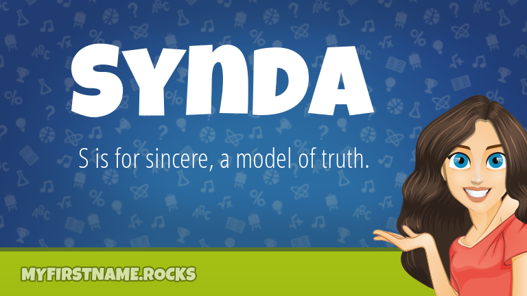 My First Name Synda Rocks!