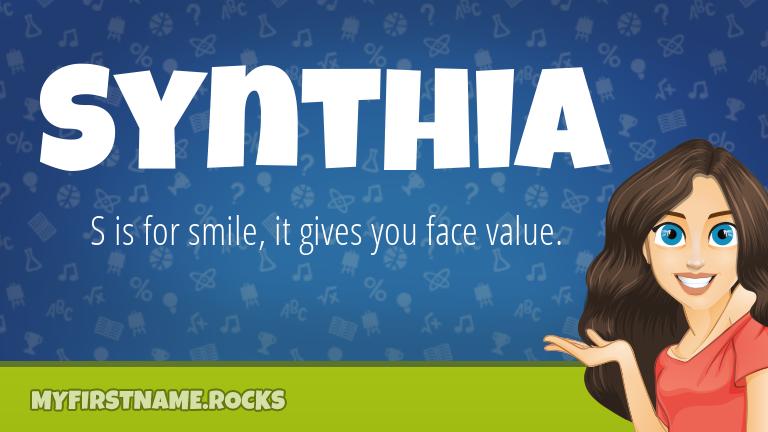 My First Name Synthia Rocks!
