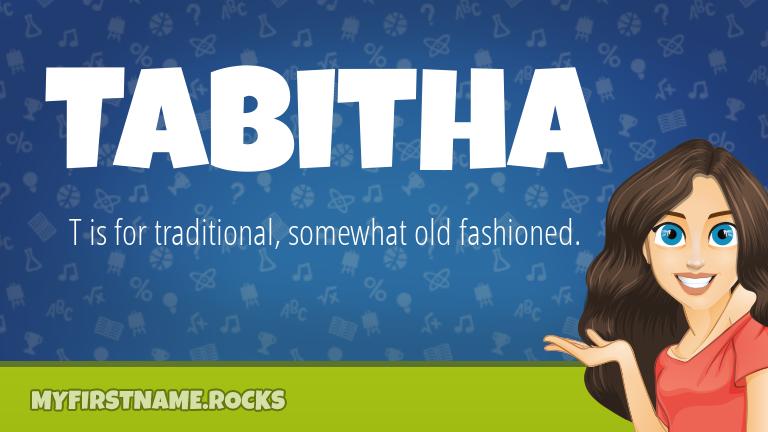 My First Name Tabitha Rocks!