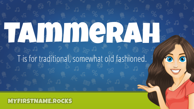 My First Name Tammerah Rocks!