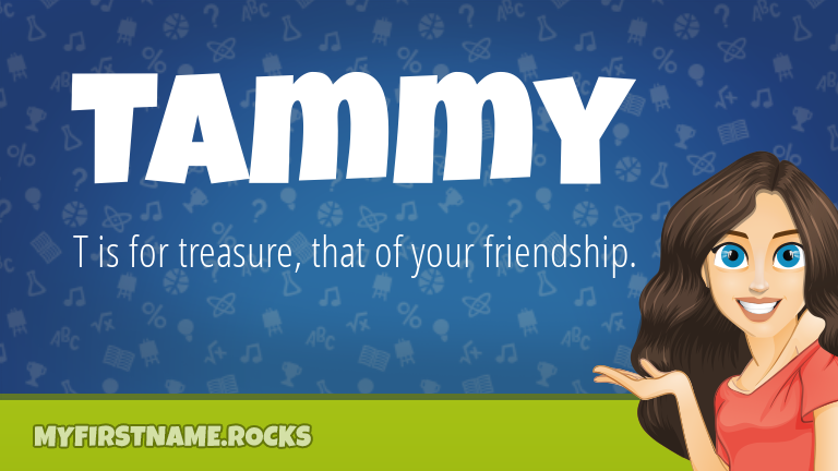 My First Name Tammy Rocks!