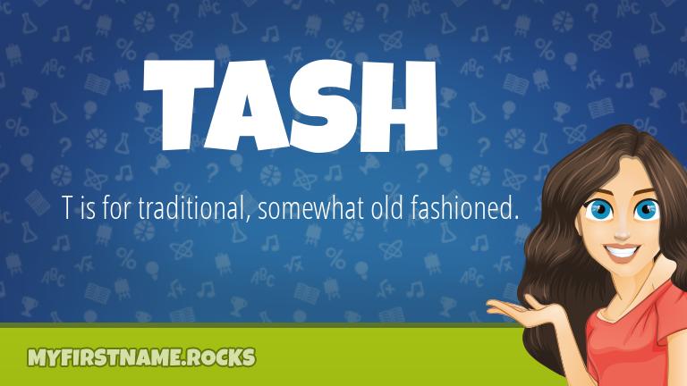 My First Name Tash Rocks!
