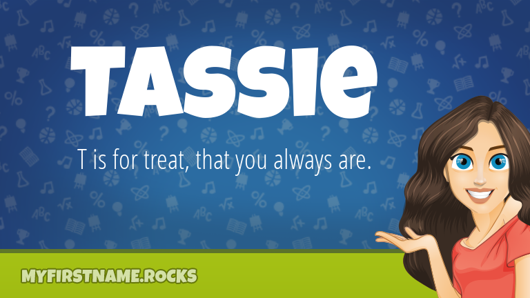 My First Name Tassie Rocks!