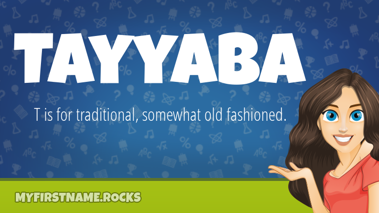 My First Name Tayyaba Rocks!