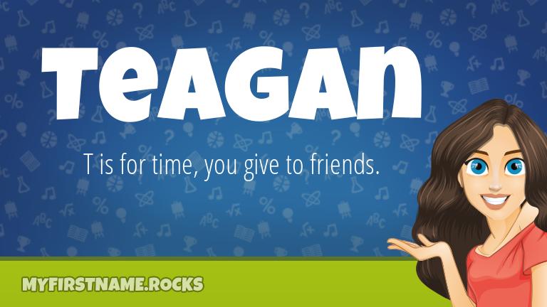My First Name Teagan Rocks!