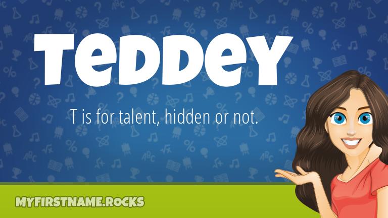 My First Name Teddey Rocks!