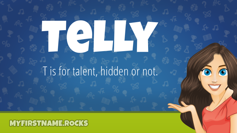 My First Name Telly Rocks!