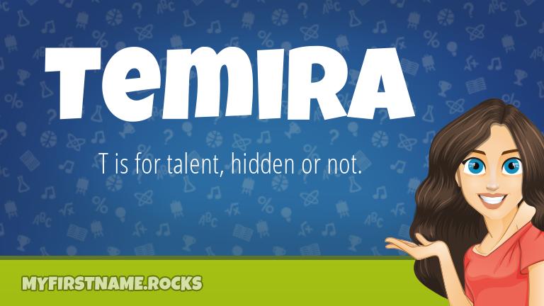 My First Name Temira Rocks!