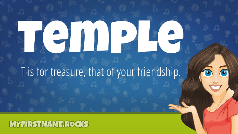 My First Name Temple Rocks!