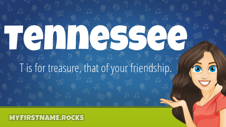 My First Name Tennessee Rocks!