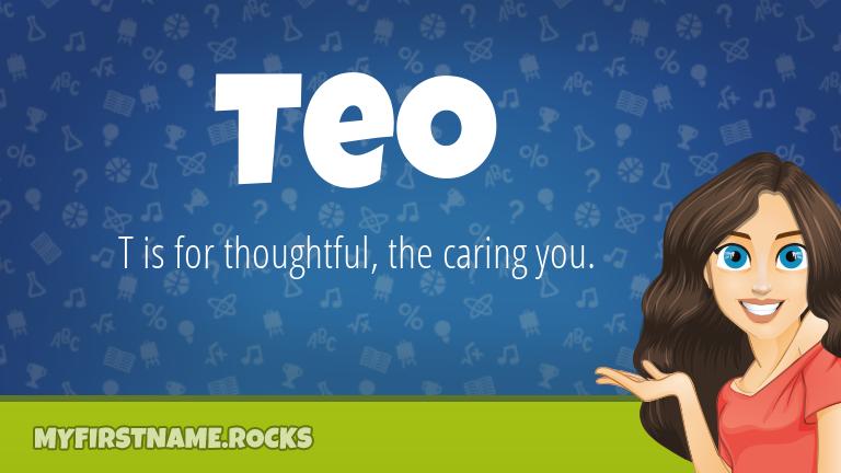 My First Name Teo Rocks!