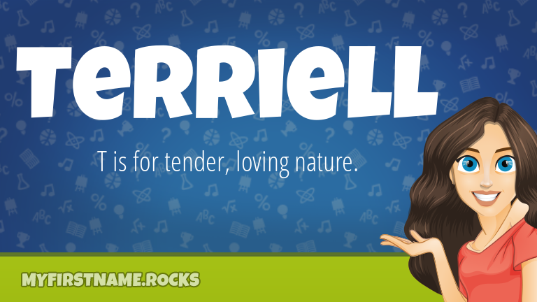My First Name Terriell Rocks!