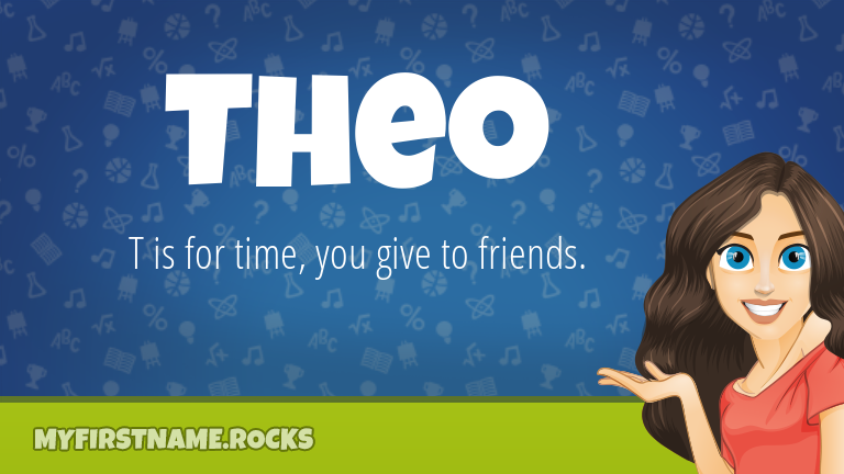 My First Name Theo Rocks!