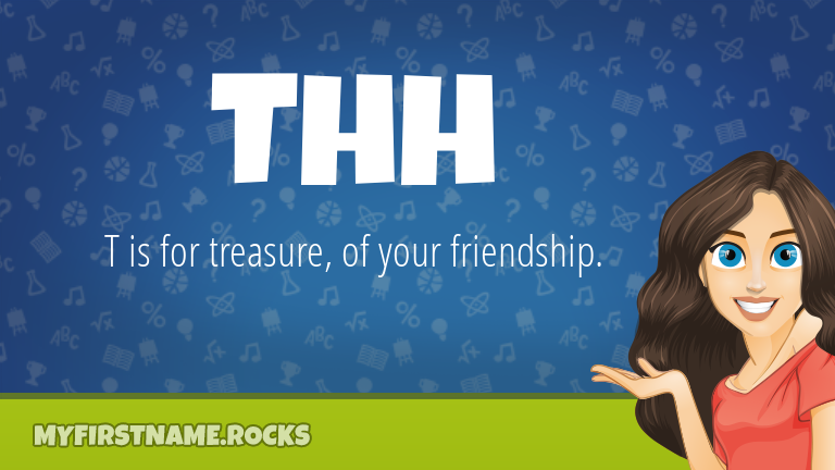 My First Name Thh Rocks!