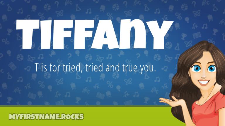 My First Name Tiffany Rocks!