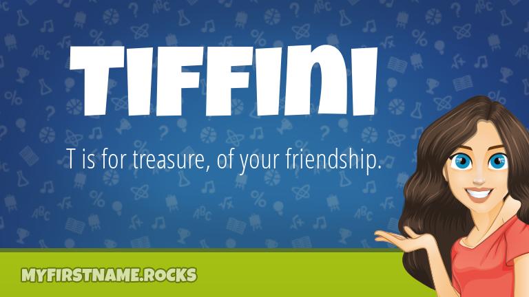 My First Name Tiffini Rocks!