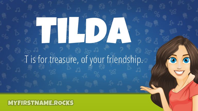 My First Name Tilda Rocks!