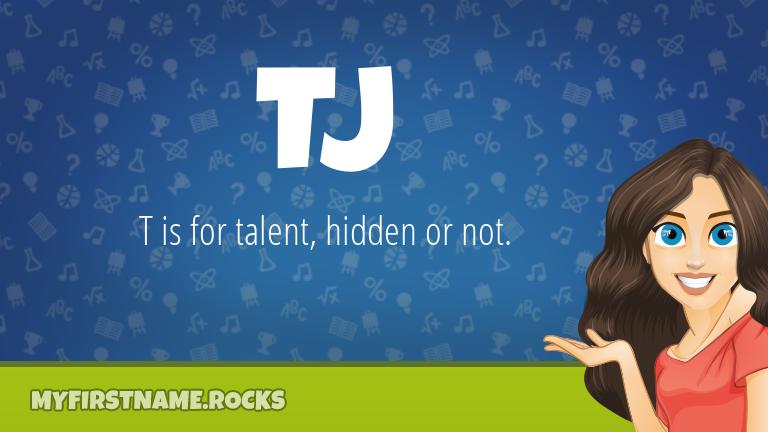 My First Name Tj Rocks!