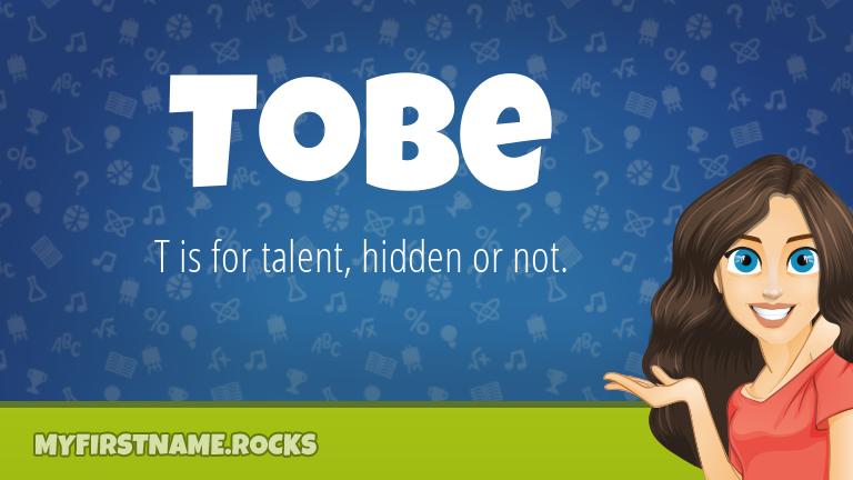 My First Name Tobe Rocks!