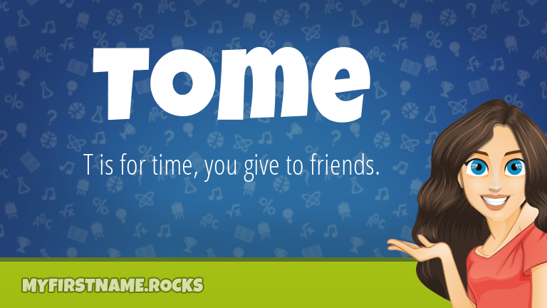 My First Name Tome Rocks!