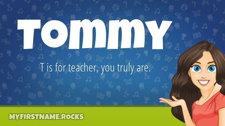 My First Name Tommy Rocks!