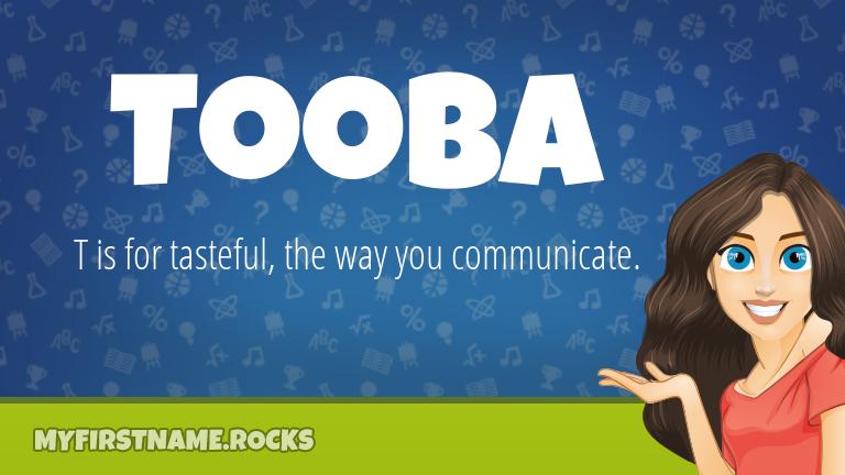 My First Name Tooba Rocks!