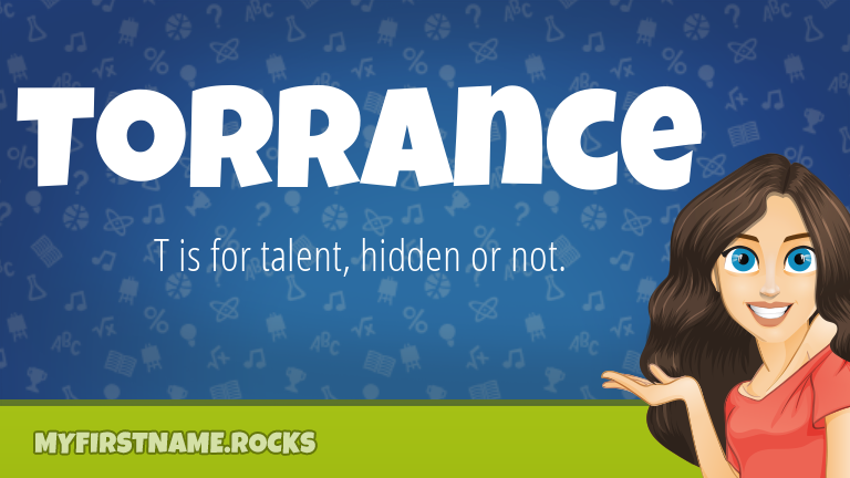 My First Name Torrance Rocks!