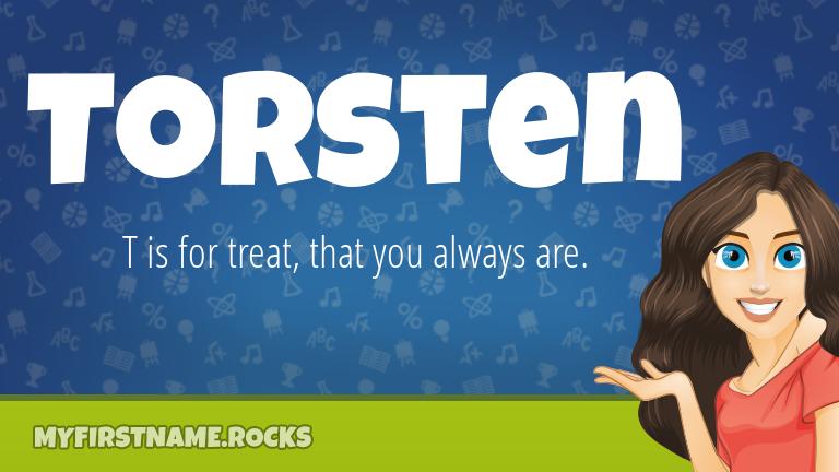 My First Name Torsten Rocks!