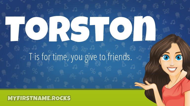 My First Name Torston Rocks!