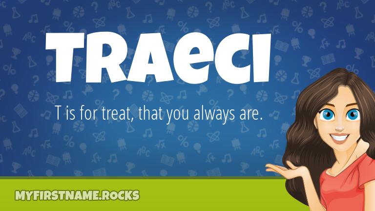 My First Name Traeci Rocks!